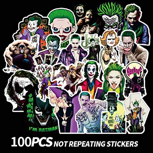 Barney Superb 100 Stks Horror Sticker 2019 Film Joker Cool Stickers Skateboard Vinyl Sticker Laptop Bagage Auto Decals Slaapkamer Decoratie