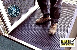Kleen-Scrape Multi-Purpose Scraper Mat - Certified Commercial Grade Industrial Non Slip Floor Mat for Entrances, Kitchens, Wet Bars, Production Areas (3' x 5')