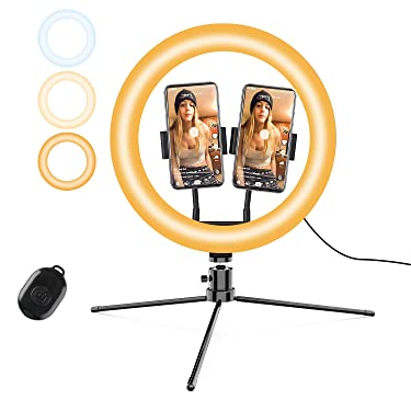 """12"""" Selfie Ring Light with Stand for iPhone Android, Selfie Light Ring YouTube Video Tiktok Makeup Photography Live"""