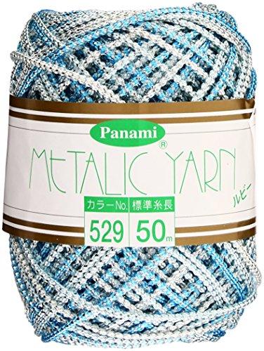 メタリックヤーン ルビー 529番色 Panami パナミ