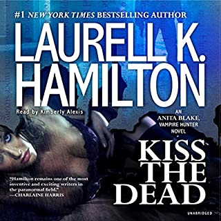 Kiss the Dead audiobook cover art