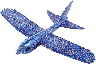 KINGOLDON Foam Throwing Glider Airplane Inertia Aircraft Toy Hand Launch Bird Model