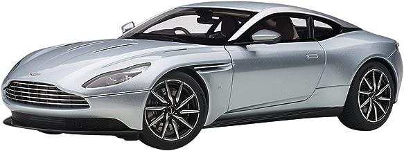 Aston Martin DB11 RHD (Right Hand Drive) Skyfall Silver Blue Metallic 1/18 Model Car by Autoart 70267