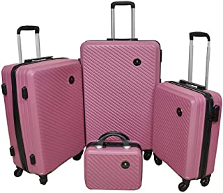 New Travel Luggage Trolley Bags for Unisex, 4 pieces