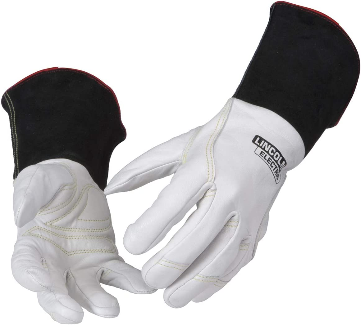 Lincoln Max 59% OFF Electric Premium TIG Welding Top Grain Leather Gloves Dealing full price reduction