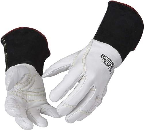 lowest Lincoln Electric Premium TIG Welding Gloves   Top Grain sale Leather   High Dexterity   online sale Medium   K2983-M outlet sale