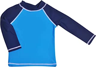 Flap Happy Unisex Kids UPF 50+ Rash Guard Swim Top Rash Guard Shirt