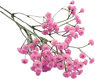 Flores Artificiales de Boda Fiesta Hogar Artificial para Decoración de hogar decoración Altas para Salon Flores secas Naturales Flores de Tela Bouquet decoración Exterior para jarrones Novia Jodier