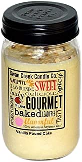 Swan Creek Candle Vanilla Pound Cake 24 Oz Candle