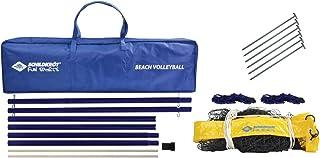 comprar comparacion Schildkröt Set de Red de Voleibol de Playa, Resistente, 2,43m x 9,5m, Incluye Postes, en una Bolsa, 970995