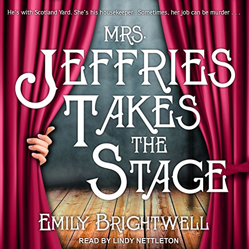 Mrs. Jeffries Takes the Stage audiobook cover art