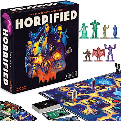Ravensburger Horrified: Universal Monsters Strategy Board Game for Ages 10 & Up