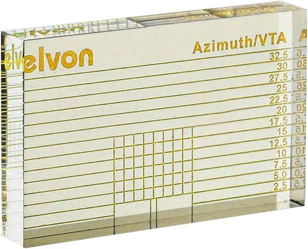 Nobsound Bocina LP Vinyl VTA Cartridge Azimuth Alignment Ruler Headshell Alignment Block