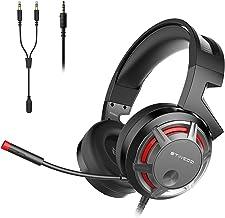 Fone de ouvido para jogos SOMIC G926S 3,5 mm estéreo para PC, laptop, telefone, PS4, XboxOne Over Ear com microfone, contr...