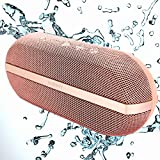 INSMY Portable Bluetooth Speakers, 20W Wireless Speaker Loud Stereo Sound Rich Bass, IPX7 Waterproof Floating, TWS Mode, 24 Hours Playtime, Bluetooth 5.0, Built-in Mic for Outdoors Camping (Pink) bluetooth stereos May, 2021