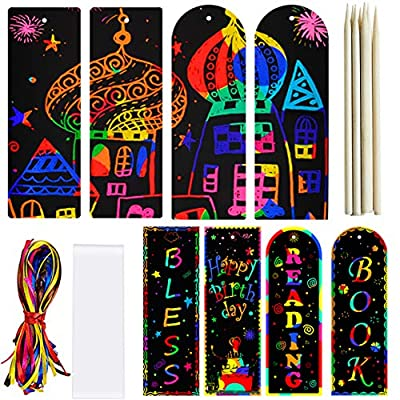 Scratch Paper Art Bookmarks Kids 36 Set 2 05032021021630
