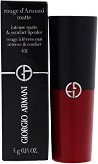 Giorgio Armani Rouge DArmani Matte Lipcolor - 401 Red Fire, 4 g
