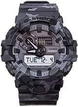 Luxury Fashion   Casio Mens GA700CM8AERGREY Grey Watch   Season Permanent