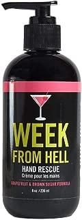 Walton Wood Farm Hand Rescue Pump (Week From Hell) Grapefruit & Brown Sugar Formula Vegan-Friendly and Paraben-Free 8 oz