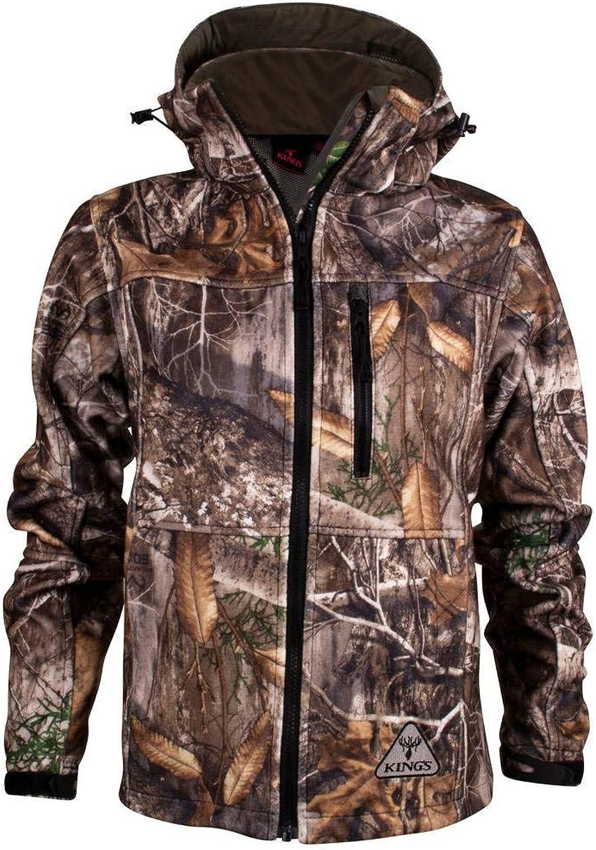 King's Camo Women's Hunter WindDefender Jacket, Realtree Edge, XLarge