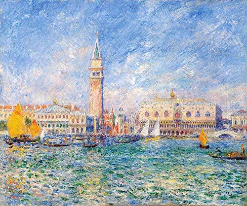 JH Lacrocon Pierre-Auguste Renoir - Vista De Venecia