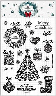 Schwarz Unbekannt Tim Holtz Weihnachten Alpha Schaum Briefmarken 27,1/x 18,3/x 0,6/cm synthetischen Material