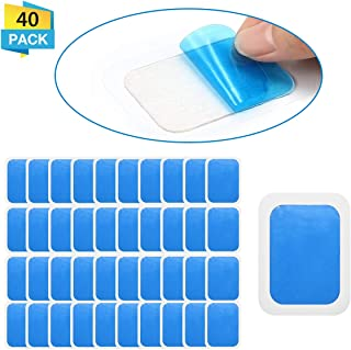 20 Sets of 40 Pads Abs Trainer Replacement Gel Sheet, Replacement Gel Pads for Abdominal Muscle Trainer, EMS AB Trainer, Accessory for Ab Workout Toning Belt