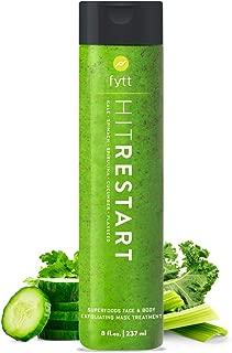 Fytt Hit Restart Superfoods Deep Cleansing, Detoxifying & Exfoliating Treatment To Help Treat Acne, Blackheads, Cellulite, Stretch Marks & Skin Bumps (Keratosis Pilaris) – Gluten Free Formula (8 oz)