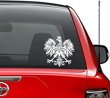 """Vinyl Decal Polish Eagle stickers Graphics Country window car TRUCK wall 18/"""""""