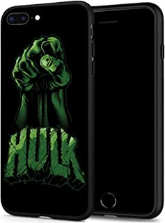 iPhone 7 Plus 8 Plus Case, Hero Series Protection Cover Back Case for Apple iPhone 7 Plus 8 Plus (Angry-Hulk)