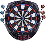 OUKITEL Electric Dart Board, Dartboard Games Scores Dart Board with 6 Darts, Spare Tips, LCD Display, 100 Tips 27 Games and 243 Variants for 16 Players…