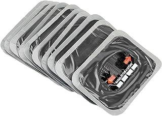 Akozon 10 Stück 80 x 120 mm Reifenpannen Reparaturflicken aus Naturkautschuk, schlauchlose Flicken für Motorräder und Autos