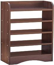 Shree Vishwakarma Engineered Wood 5 Tier Shoe Rack/Shoe Case/Shoe Stand for Living Room and Home Entrance - Walnut
