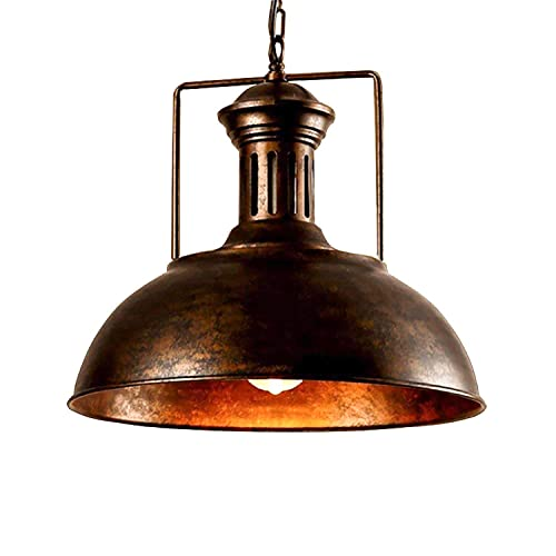 Exceptionnel Vintage Pendant Lamp, Motent Industrial Nautical Style Barn Dome/Bowl  Shaped Hanging Light,