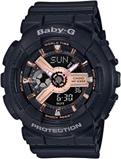 Casio Baby-G Women's Ana-Digi Dial Resin Band Watch - BA-110RG-1ADR