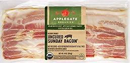 Applegate, Organic Uncured Sunday Bacon, 8oz