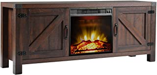 Best wood fireplace tv stand Reviews