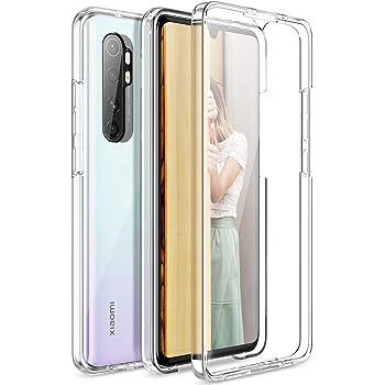 Cover Xiaomi Mi Note 10 / 10 Pro Silicone Fronte Retro Argento