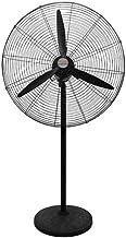 Ventilateurs industriel, métal Gym Mute piédestal Fans 3 feuilles de vent fort Ventilateurs électrique à faible bruit de m...