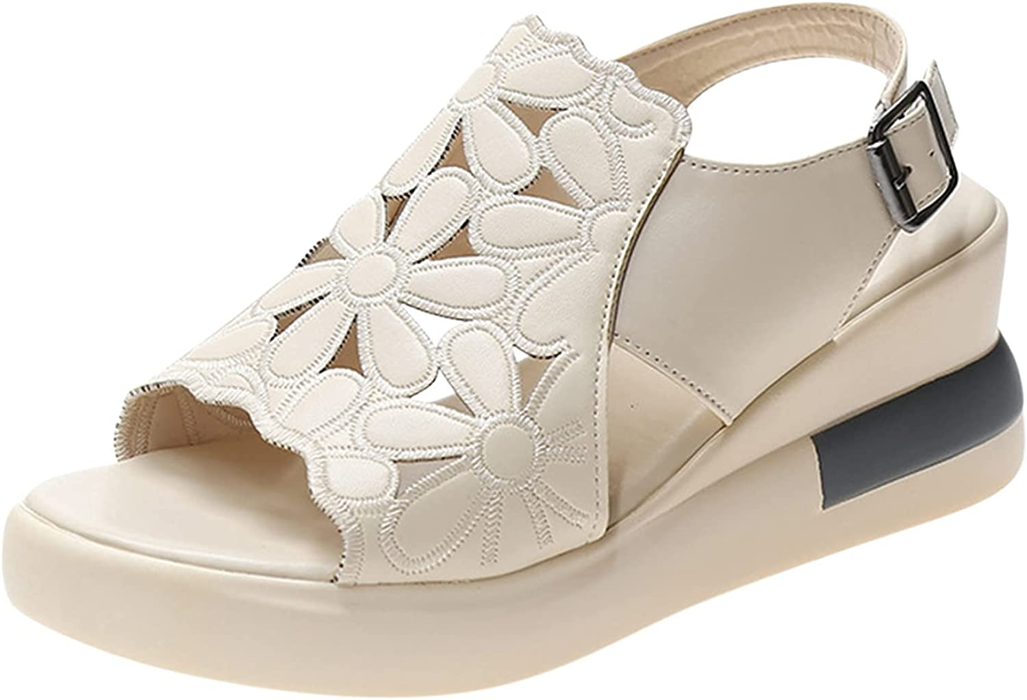 Gyouanime Shoes Platform peep Toe for Womens Sandals Wedge Summe Trust Tulsa Mall