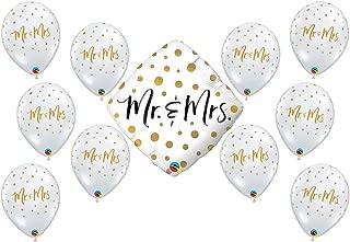 Mr. & Mrs Wedding Party Balloon Bundle (1)