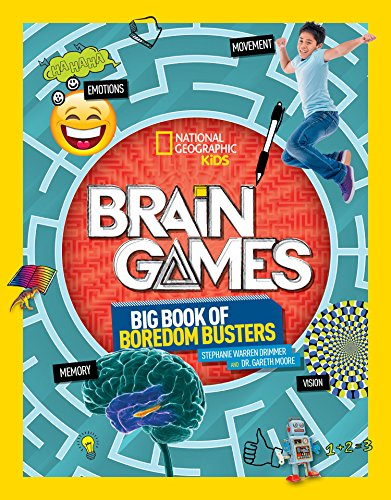 Compare Textbook Prices for Brain Games: Big Book of Boredom Busters edition Edition ISBN 9781426330179 by Drimmer, Stephanie Warren,Moore, Gareth