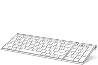 Multi-Device Bluetooth Keyboard for Mac OS, Jelly Comb Recha