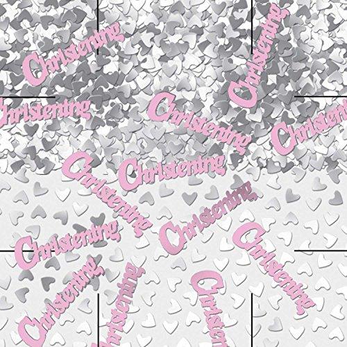 amscan International Confettis métalliques 14 g 9900456 Baptême