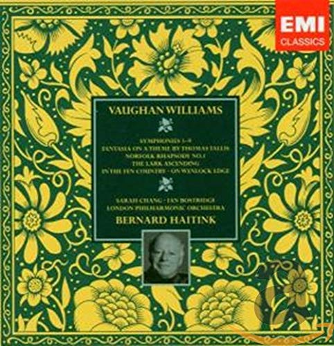 Vaughan Williams: Symphonies #1-9, The Lark Ascending, Fantasia on a Theme by Thomas Tallis, In the Fen Country - Haitink, Bostridge, Chang (7 CD