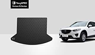ToughPRO Cargo/Trunk Mat Compatible with Mazda CX-5 - All Weather - Heavy Duty - (Made in USA) - Black Rubber - 2013, 2014, 2015, 2016, 2017, 2018, 2019,2020