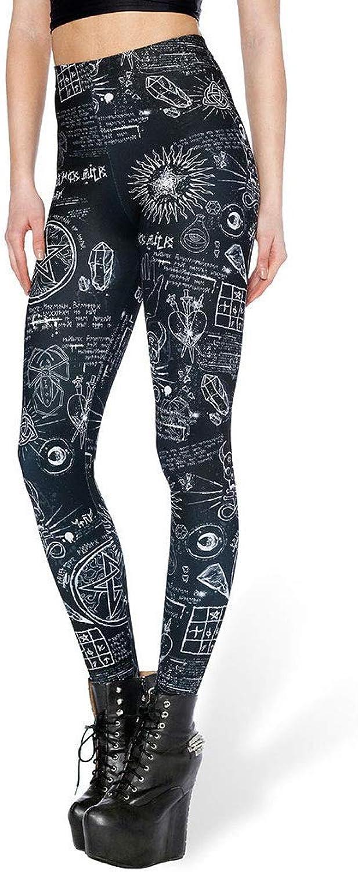 2019 Yoga Pants Graphic Digital Printing Leggings Leisure Sports Yoga Pants