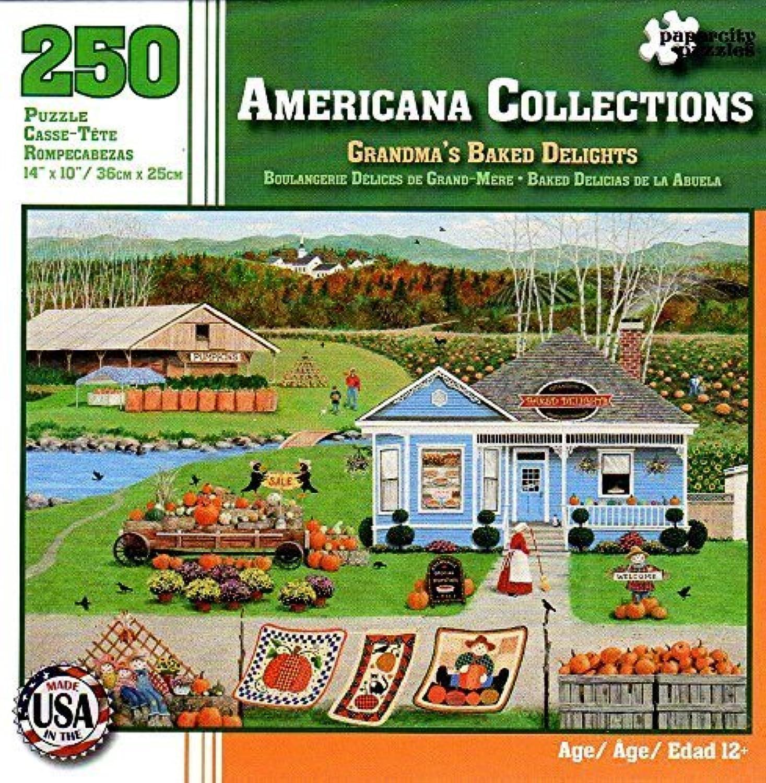 marca de lujo Americana Collections Grandma's Grandma's Grandma's Baked Delights 250 Piece Puzzle  varios tamaños