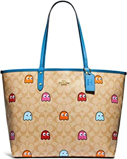 Best coach pac man reversible tote Reviews