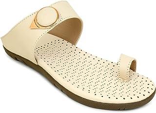 Footstreet Women Stylish Fancy and Comfort Trending Flat Fashion Sandal